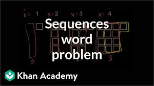 Area Code Chart In Numerical Sequence Sequences Word Problem Growth Pattern Video Khan Academy