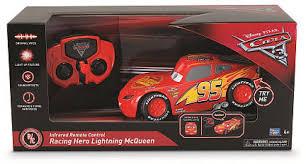 disney pixar cars 3 infrared remote control car racing hero lightning mcqueen