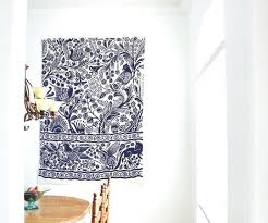 hang rug on wall cowhide