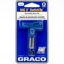 Graco Tip Chart Ltxxxx Graco Rac X Switch Tip Reversible Airless Spray Tips