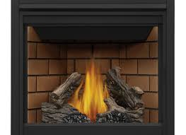 continental 35 in direct vent black natural gas
