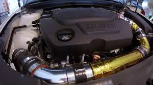 Malibu 3.6 v6 cold air intake - YouTube