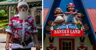 in july one man is bringing magic and holiday spirit back to the once abandoned santa s land usa roadtrippers