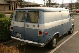 OLD PARKED CARS.: Parking Lot Christmas Eve #3 of 5: 1976 GMC Vandura.