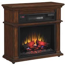 23if1714 c247 bennington rolling mantel with infrared quartz heat electric fireplace heaterduraflame