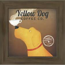 Brown dog coffee company салида, чаффи каунти, колорадо. Winston Porter Yellow Dog Coffee Co Picture Frame Advertisements Print On Paper Reviews Wayfair