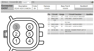 2010 f150 pickup the wire harness is there for the rear backup camera fpv camera wiring diagram graphic graphic graphic