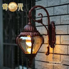 light painted aluminum outdoor wall lamp style garden lighting waterproof luxury villa patio decor in