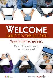 Speed Networking Event Poster On Behance