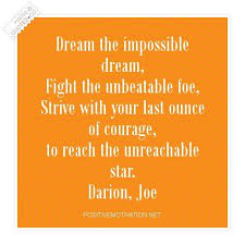 Quotes About Impossible Dreams Best of Dream The Impossible Dream Motivational Quote QUOTEZ○CO