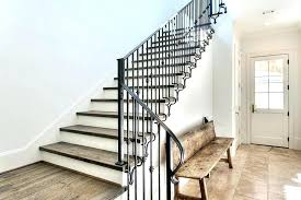 Wrought iron stair railing Luxury Iron Stair Railing Outdoor Railings Exterior Wrought Iron Stair Railings Stairs Awesome Remarkable Decohoms Iron Stair Railing Wrought Iron Stair Rail Wood Hand Cap Wrought