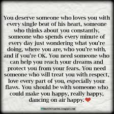 Heartfelt Quotes Adorable Love Quotes For Him For Her Heartfelt Quotes You Deserve Someone