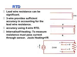 introduction to temperature sensors measurement and calibration rtd lead wire