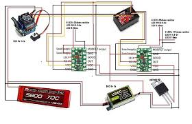 rc aircraft wiring diagrams is this bec diagram correct rcu forums note there is a mistake in this one the rc receiver wiring diagram