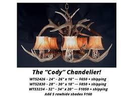 whitetail antler chandelier 1