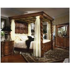 Images Of King Size Four Post Bedroom Sets   King Size 4 Poster Bedroom Set  For Sale In Finley, Washington