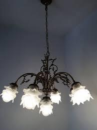 Deckenleuchte 7 Deckenlampe ø65 Im Antik Kronleuchter
