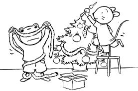 Kleurplaat Uk En Puk Sinterklaas Kleurplaat Puk Viert Kerst Thema