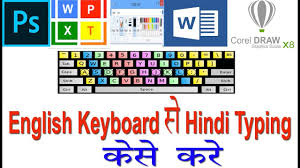 How To Type Hindi Font With English Keyboard In Ms Word Photoshop Paint Notepad
