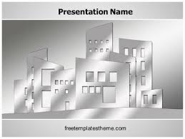 Architectural Powerpoint Template Free Building Architecture Powerpoint Template