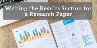Writing The Results Section For A Research Paper Wordvice