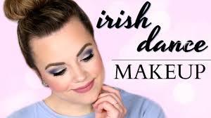 irish dance makeup blue silver dress cait b you