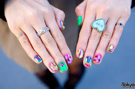 Do japanese nail art - how you can do it at home. Pictures designs ...