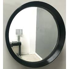 round mirror black frame black round mirror brilliant thin frame metal hobby lobby with regard to