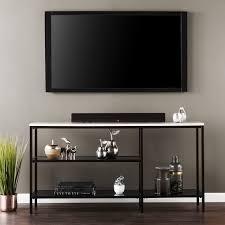 narrow console table. Holly \u0026 Martin Corman Faux Marble Narrow Console Table - Black W/ Grey
