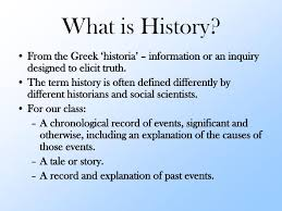 Ppt What Is History Powerpoint Presentation Id 6859006