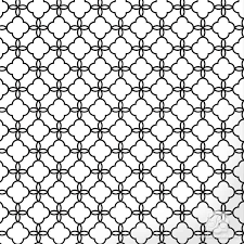 Morrocan Pattern Fascinating Eastern Lattice Moroccan Craft Stencil Royal Design Studio Stencils