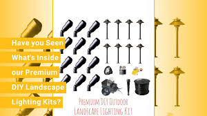 do it yourself outdoor lighting. contemporary outdoor do it yourself low voltage landscape lighting premium kits inside outdoor