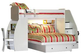 Double Bed Bunk Beds With Desks Underneath  Interior Designs For Bedrooms