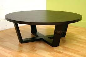 coffee tables dark wood chic round dark wood coffee table top round black coffee table