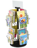 Rotating Greeting Card Display Stand Greeting Card Display Stands FloorStanding Countertop Racks 2
