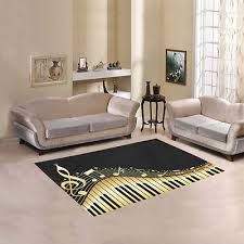 new coming room decor notes with piano keyboard area rug floor rug carpet 53 99