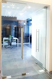 frameless glass doors interior frameless glass internal doors uk