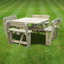 braunston picnic table rounded edges