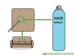 how to clean leather car seats home remedy 3 ways to remove ink stains from