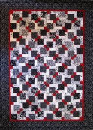 Valentine Quiltworks: Disappearing 9 Patch Quilt & Now you know how I made this Disappearing 9 Patch quilt! Here is the  finished quilt one more time. Adamdwight.com