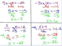 2 step algebra equations worksheets messygracebook