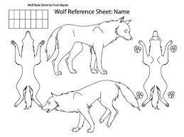 Wolf Body Language Chart Arizona Hybrid Association Wolf Dog Documentation Chart