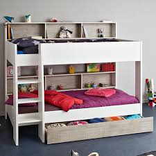 bedroom furniture teenage. Sale Parisot Tam 3 White/Grey Bunk Bed With Optional Drawer Bedroom Furniture Teenage O