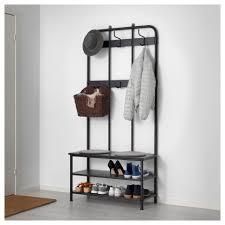 Rustic Entryway Coat Rack Mudroom Bench With Coat Rack Pinnig Shoe Storage Ikea Hallway 35
