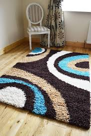 new extra large small medium brown teal cream biscuit modern soft thick gy non shed pile bedroom rug hall carpet