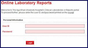 Aga khan hospital lab reports online
