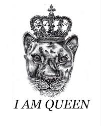 Queen Queen Lioness Lion Tattoo Tattoos Draw Pen Ink Inked