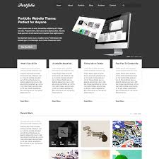 Graphic Design Portfolio Psd File Free Download Free Psd Portfolio And Resume Website Templates In 2019