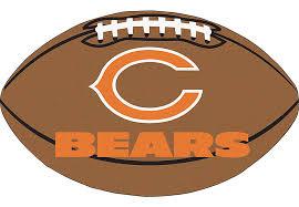 appealing chicago bears rug on nfl football field fan rugs
