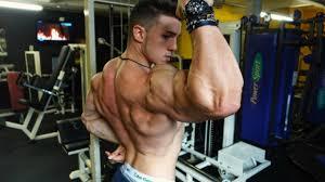 Teen body builder endri